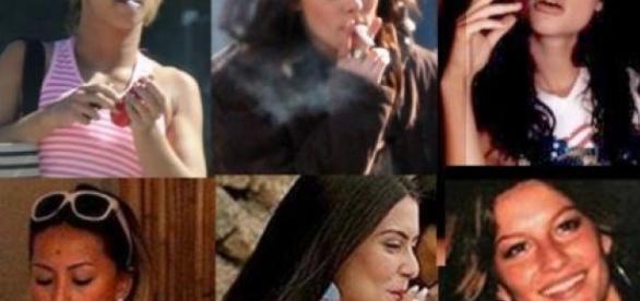 Famosas que já foram flagradas fumando