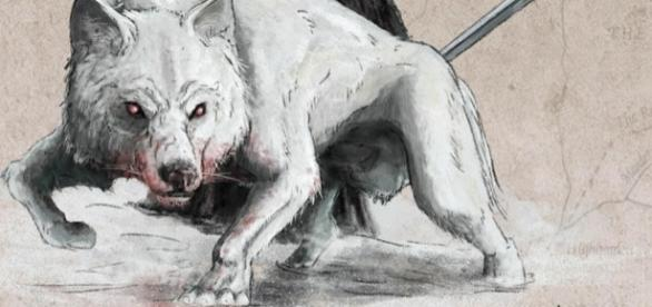 Lobo Gigantes de 'Game of Thrones'