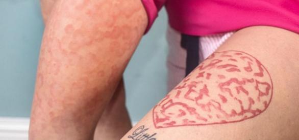 Mãe fez tatuagem para ficar igual à filha