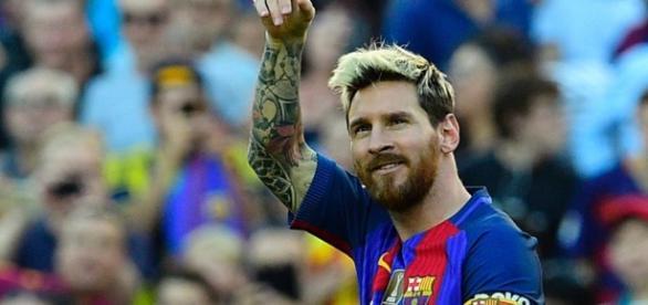 Messi anotó un hattrick ante el City