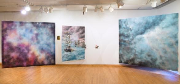 Raphael Fenton-Spaid has displayed artwork all over the world. / Photo via Raphael Fenton-Spaid, used with permission.
