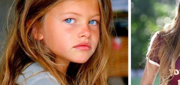 A menina eleita mais bonita do mundo, em 2005, hoje é modelo
