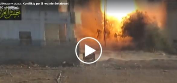 Żołnierze zostali dosłownie zmasakrowani rakietą z wyrzutni.