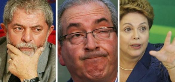 Eduardo Cunha pode complicar Lula e Dilma em uma delação (Foto: reprodução)