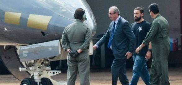 Ex-presidente da Câmara Eduardo Cunha foi preso pela Polícia Federal