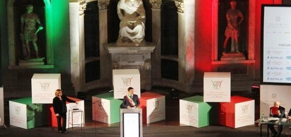 Matteo Renzi agli Stati generali della lingua italiana.