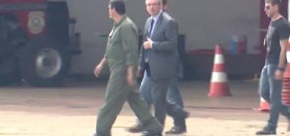 Na foto, o Deputado que foi detido nesta tarde, por pedido do Ministério Público Federal
