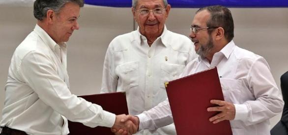 Presidente Santos: El acuerdo de paz firmado con la Farc es el ... - aporrea.org