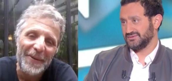 Stéphane Guillon reproche à Cyril Hanouna de défendre Jean-Marc Morandini (Capture Twitter/C8)
