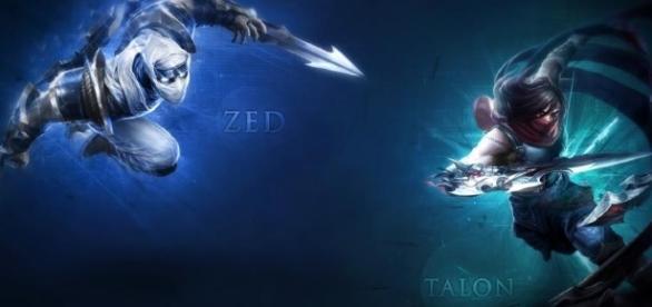 Zed y Talon en la Temporada 7 estarian siendo viables para Top Zed y Talon en la Jungla