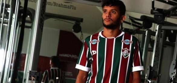 """Autor de belo gol contra o Sport, Gustavo Scarpa crê que Fluminense sobe de produção na """"hora certa"""" (Foto: Arquivo)"""