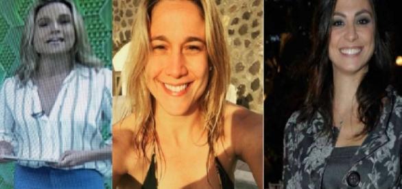Fernanda Gentil e namorada - Foto/Montagem