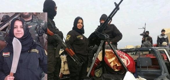 La grand-mère courage sunnite, anti-Daesh remplit bien son rôle