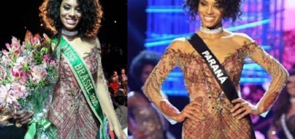Miss Paraná é negra e apenas a segunda assim a vencer concurso