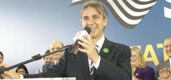 Rubens Furlan em convenção do PSDB (Foto: Reprodução)