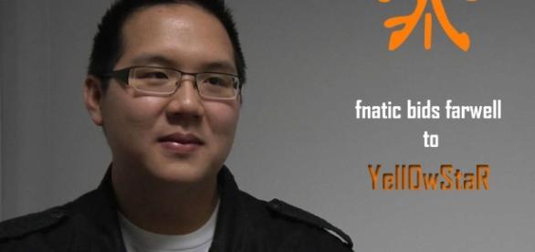 "Bora ""Yellowstar"" Kim joueur pro de League of Legends"