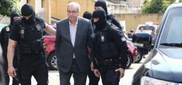 Eduardo Cunha foi preso nesta quarta-feira
