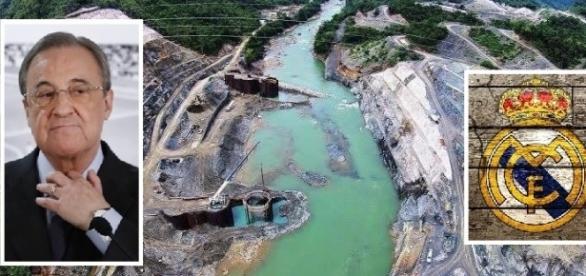 Florentino Perez y el rio Cahabón en Guatemala
