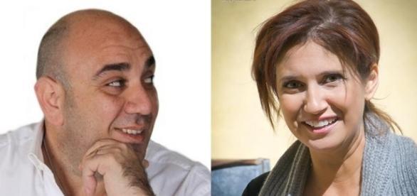 Giancarlo Garozzo e Simona Princiotta