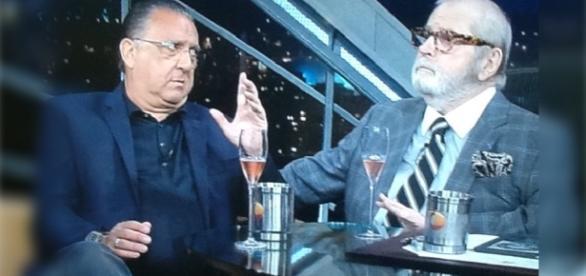 Jô Soares ironiza Galvão durante entrevista.
