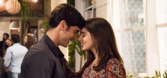 Noivado de Shirlei e Felipe é ameaçado em 'Haja Coração'