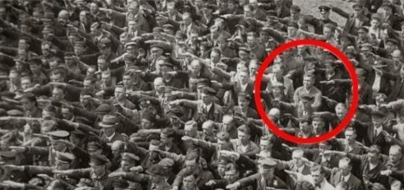 O homem que se recusou a saudar Hitler