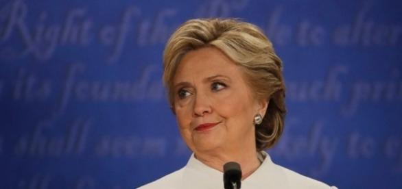 Third Presidential Debate: Hillary was perturbed. Photo: Blasting News Library - ABC News - go.com