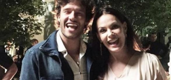 Henrique e Penélope em 'Haja coração'
