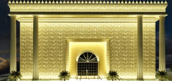 Imagem do Templo de Salomão, inaugurado em 2014