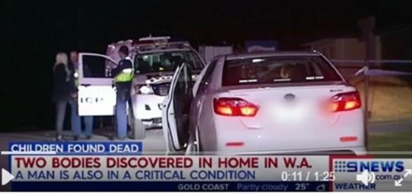 Murder suicide. / Photo screencap via Nine News, Twitter