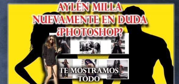 Te mostramos a Aylén Milla al desnudo