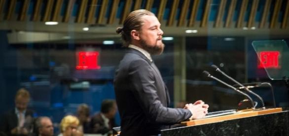 DiCaprio continues to voice his Climate Change concerns