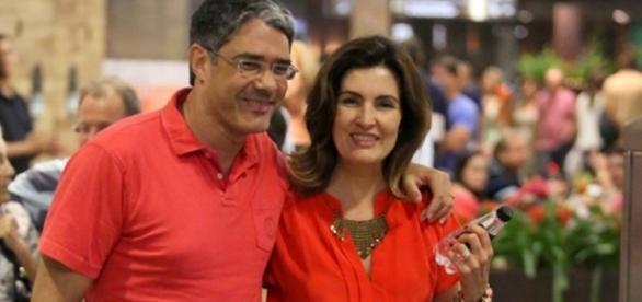 O casal de jornalistas se evitou novamente