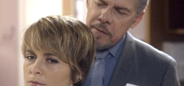 Tião ameaça matar filha de Helô e Pedro em 'A Lei do Amor'