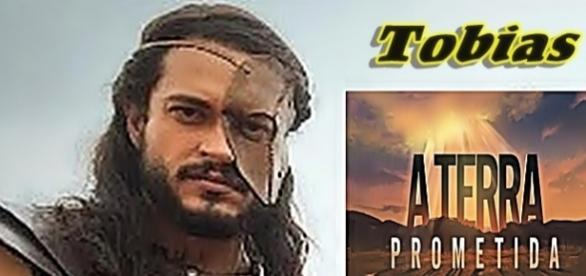 Tobias, personagem da novela 'A Terra Prometida'