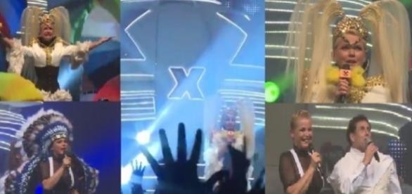 Xuxa encantou o público no Rio de Janeiro.