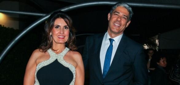Bonner e Fátima Bernardes terminaram o casamento de vinte e seis anos