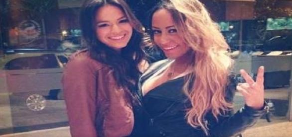 Bruna e Rafaella estariam 'brigadas'.