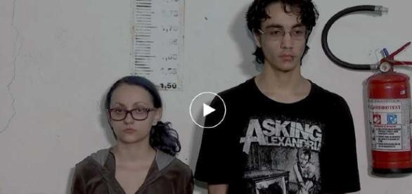 Casal torturava a filha de quatro meses (Reprodução / SBT)