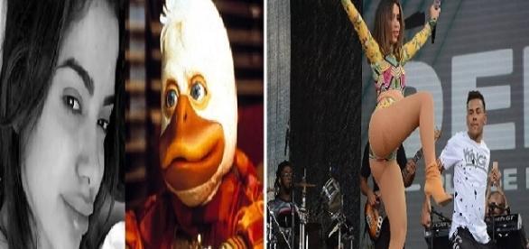 Foto montagem: Anitta vira piada na rede.