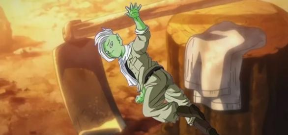 Goku en el cuerpo de Zamasu - Linea alterna