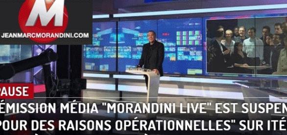 On a du mal à croire que seules des raisons techniques conduisent à suspendre Morandini Live