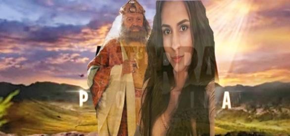 Rei Durgal tenta obrigar Tiléia a se deitar com ele em 'A Terra Prometida'