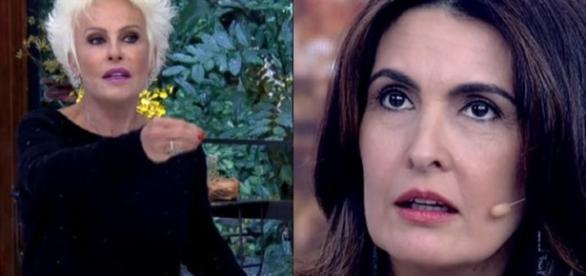 Ana Maria Braga está irritada com Fátima Bernardes, diz jornalista