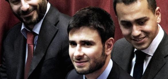 Di Battista, politico italiano del Movimento 5 Stelle