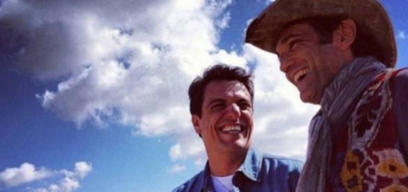 Lombardi e Domingos Montagner eram grandes amigos