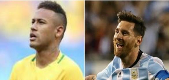 Neymar e Messi, craques do Barça e das suas seleções nacionais
