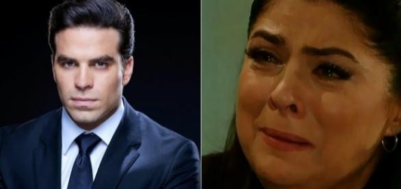 Regina será abandonada pelo filho após bater nele.