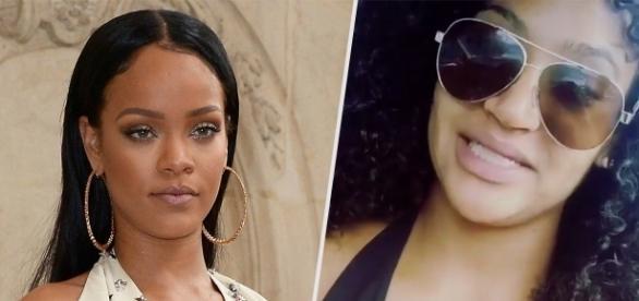 Rihanna faz apelo aos fãs para que ajudem a encontrar sua bailarina desaparecida.