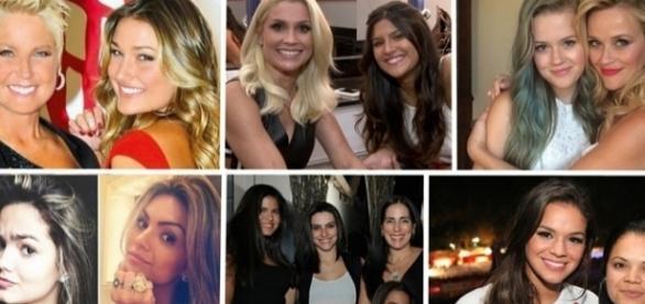 Tem pessoas que realmente são muito parecidas com sua mãe, veja como isso acontece com as celebridades.